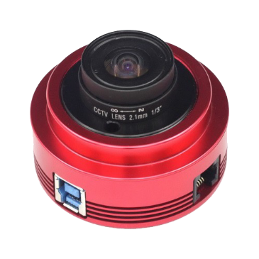 "ZWO ASI120MC-S Colour 1/3"" CMOS USB3.0 Camera with Autoguider Port"